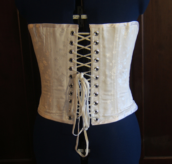 Civil War Corset Back
