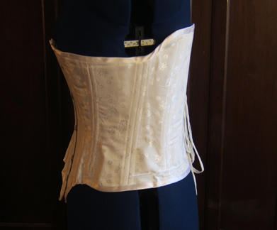 Civil War Corset Side