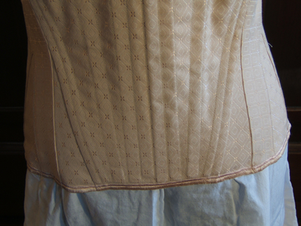 Regency Stays Front Bottom Detail