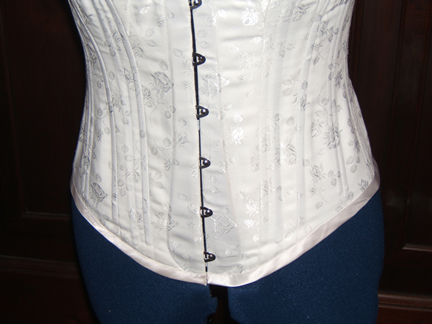 Spoon Busk Corset Bottom Detail